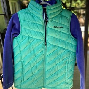 Columbia Vest and Fleece Jacket Set